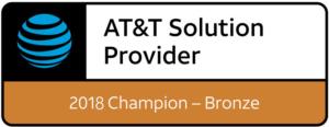 ATT Bronze Solution Provider Champion